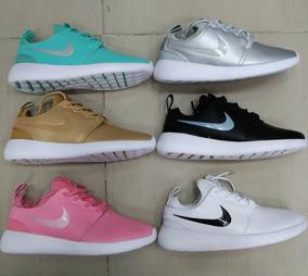 Tenis Zapatillas Adidas En Cuero Para Mujer Nike Ropa