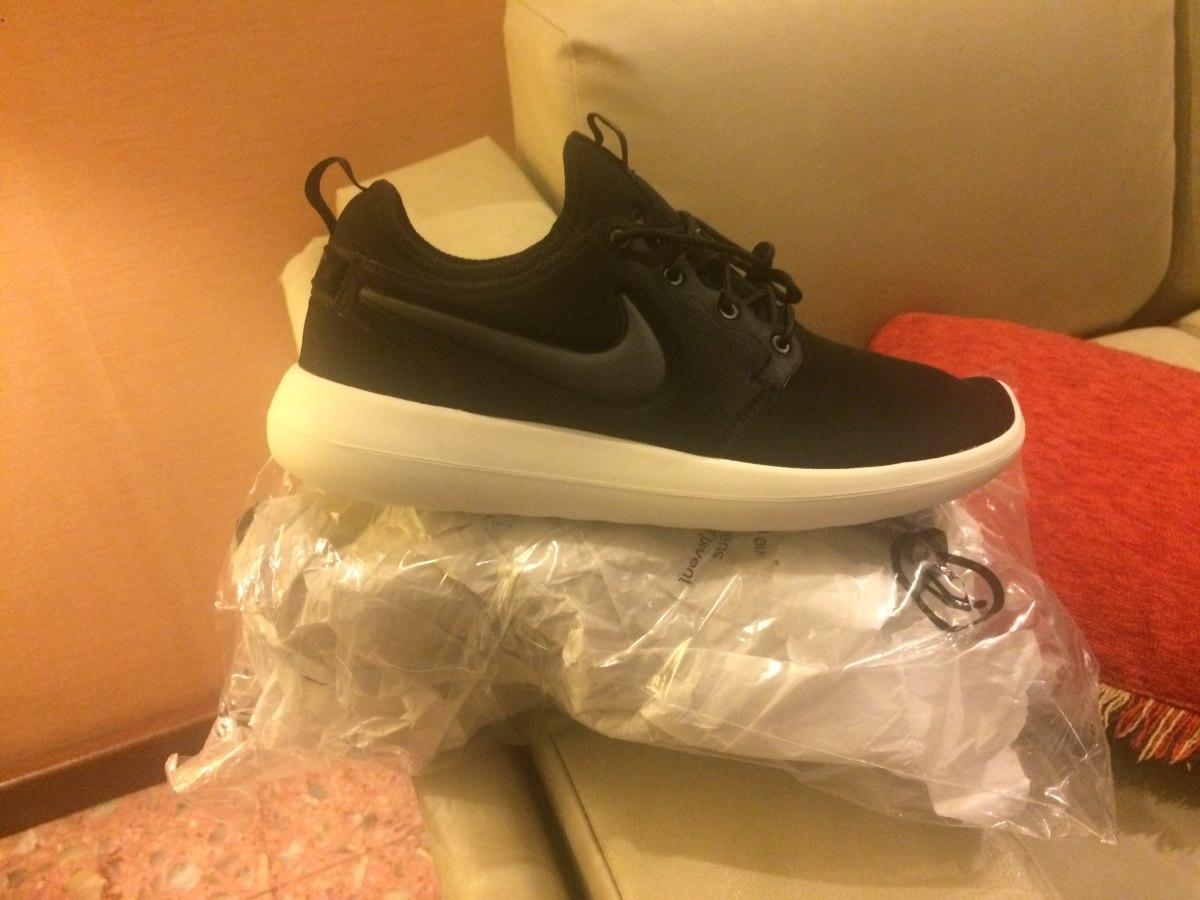 Zapatillas Nike Roshe Two Mujer Negras Us 8.5   25 cd256e1406a35