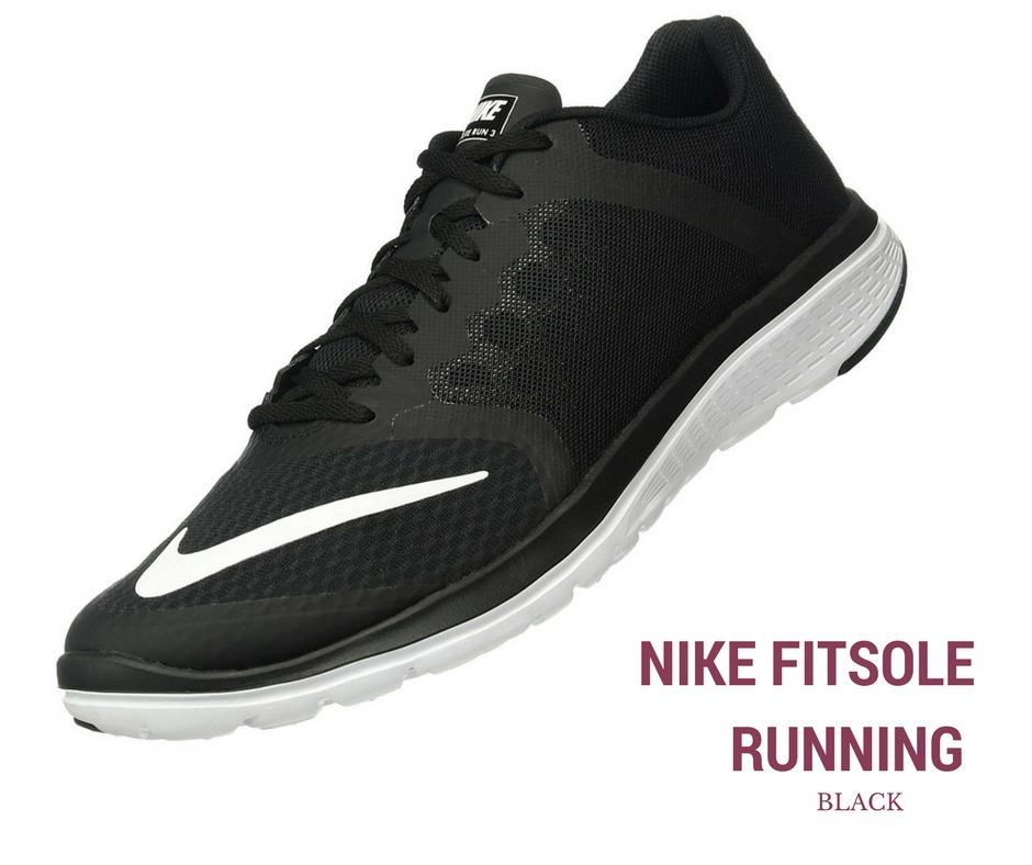 925f68fca71 zapatillas nike running fitsole negra blanca hombre original. Cargando zoom.