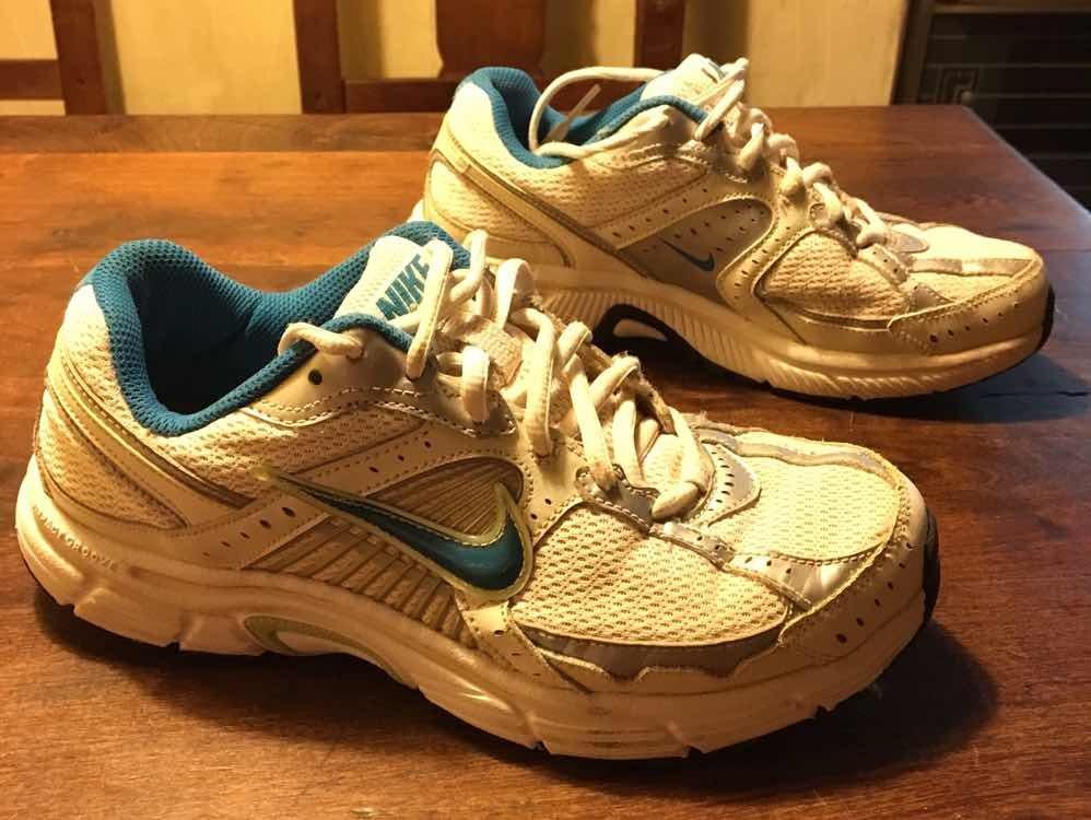 zapatillas nike mujer running blancas