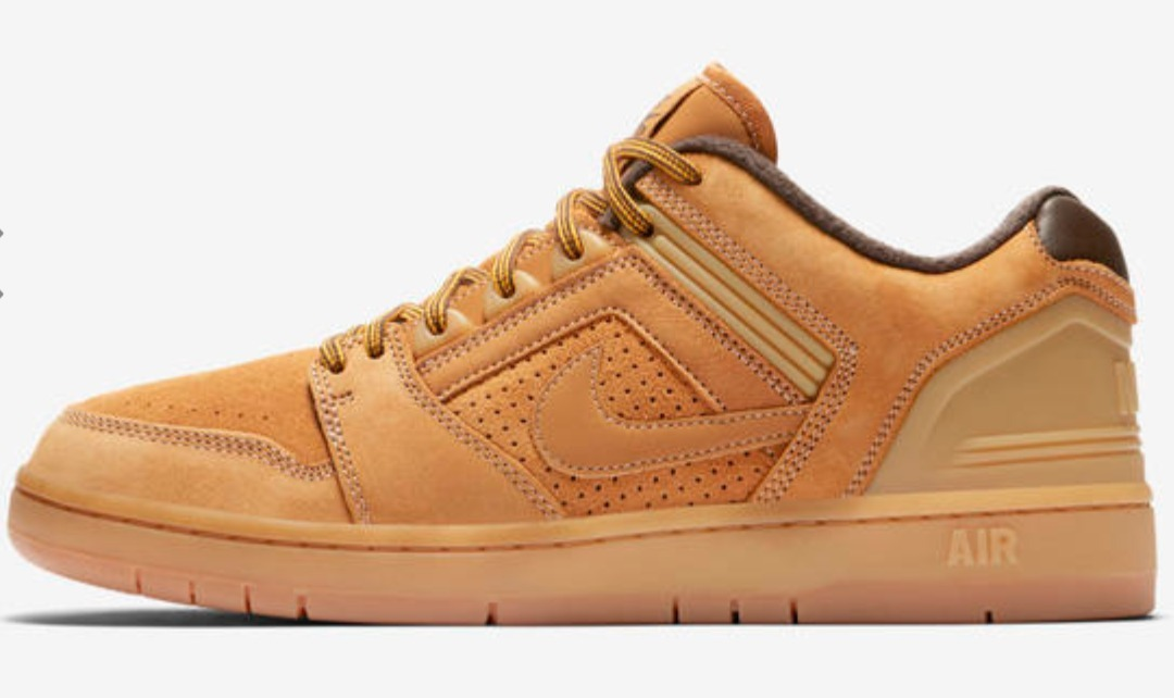 acheter populaire a6134 748c3 Zapatillas Nike Sb Air Force Ii Low Premium 772 Unisex Camel