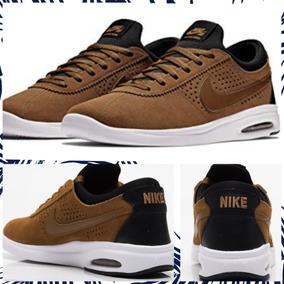Zapatillas Nike Sb Air Max Bruin Vapor Cuero Marron Negro Bo