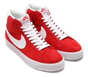 zapatillas nike rojas clasicas