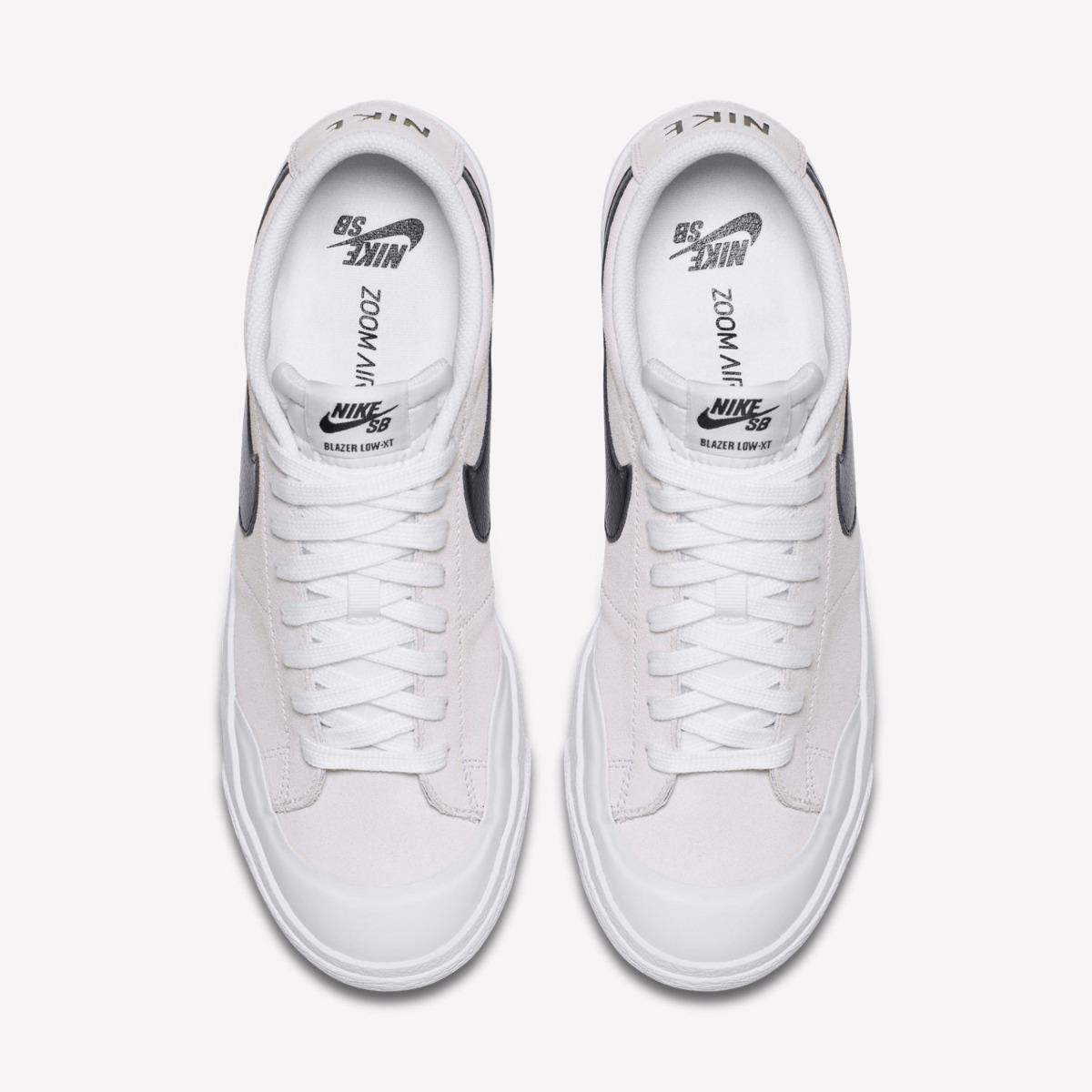 Zapatillas Nike Sb Blazer Zoom Low Blanco Original Nuevo