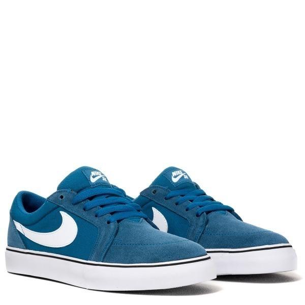 lindos zapatos ahorre hasta 60% sitio web para descuento Zapatillas Nike Sb Brigade Blue / White / Black Lona Canvas