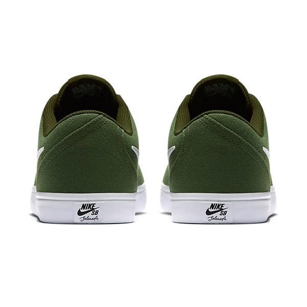 0e41b2533f498 Zapatillas Nike Sb Check Solar Canvas Verde -   2.199