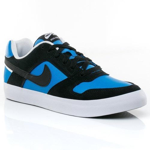 zapatillas nike sb delta force vulc black / italy blue