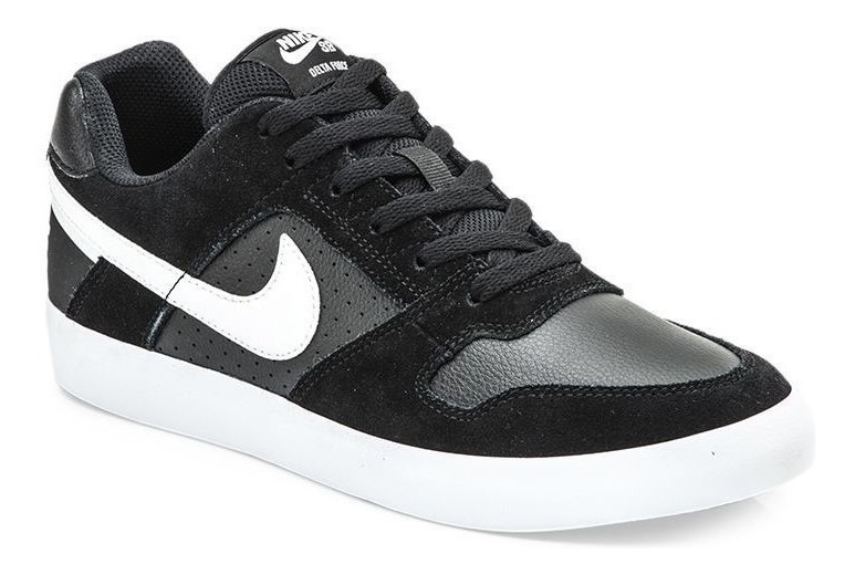 Zapatillas Nike Sb Delta Force Vulc Blackwhite Hombre