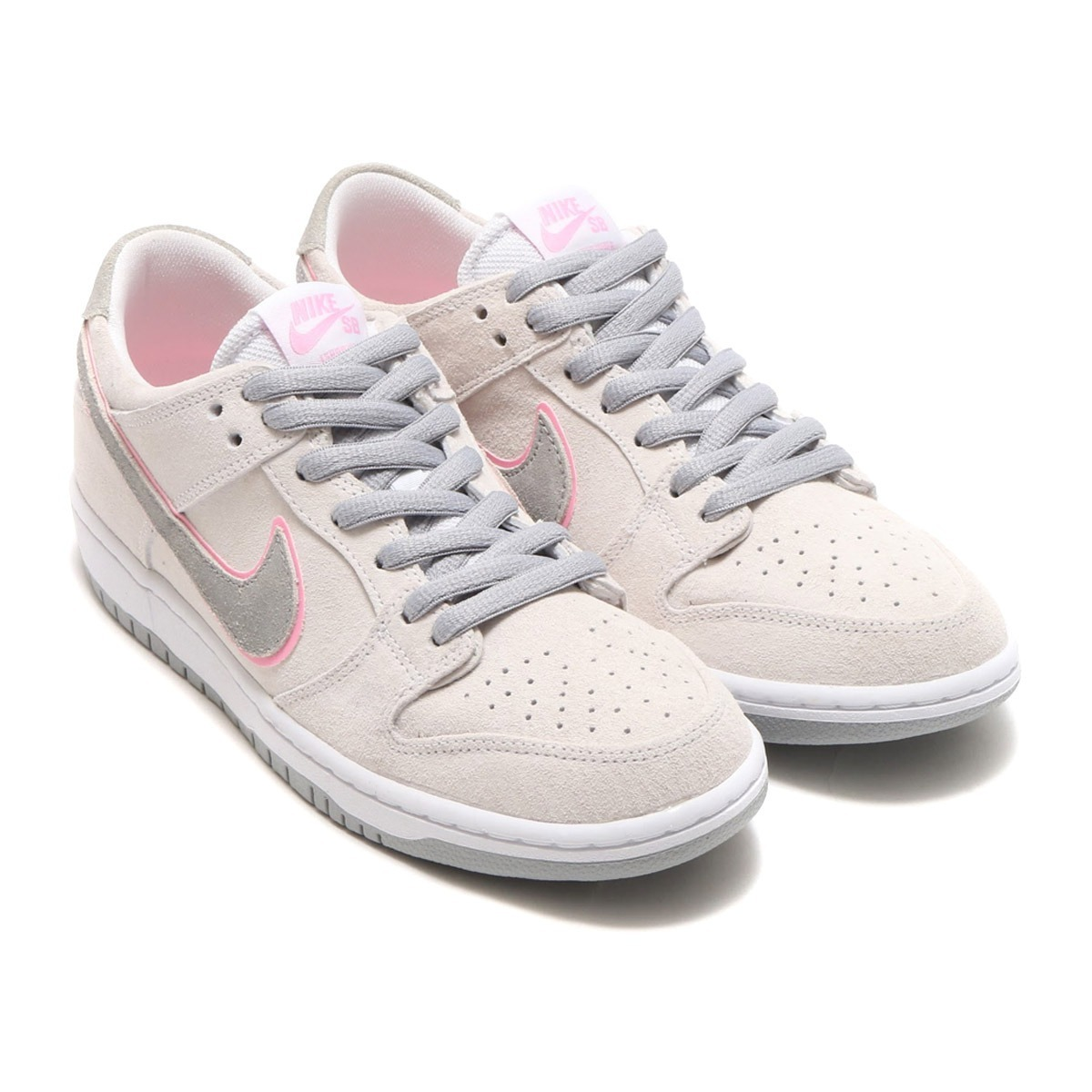 premium selection c3fe3 e49d4 zapatillas nike sb dunk low pro white perfect pink. Cargando zoom.