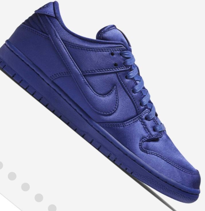 online store c8b36 c77db Zapatillas Nike Sb Dunk Low Trd Nba Azul Skate Blue 446
