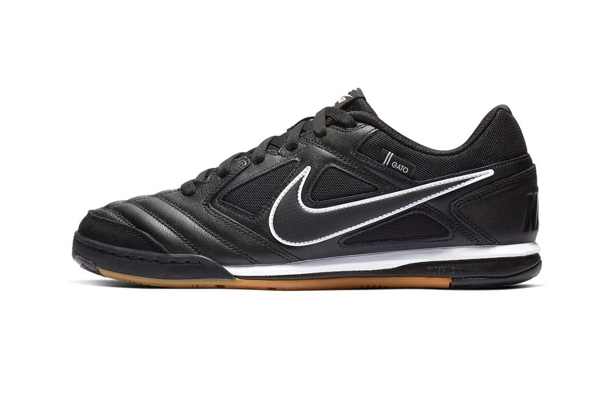 3d2530208b7 zapatillas nike sb gato negra cuero 100%original importada ! Cargando zoom.