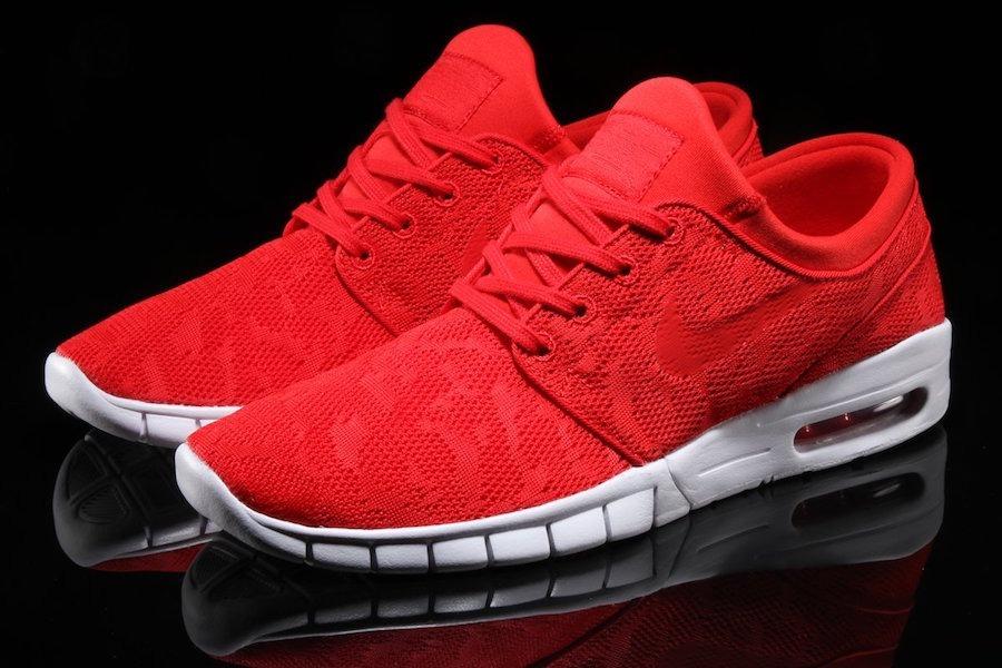 Zapatillas Nike Sb Janoski Max Rojas Nuevo Inngreso Original
