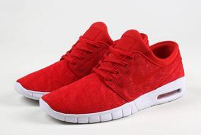 zapatillas rojas nike hombre