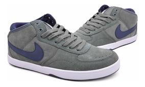 Zapatillas Nike Sb Mavrk Mid 3 azul marino+gris Mpim H Azul