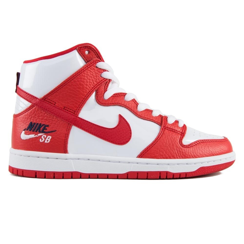 dcbafe53158d7 Zapatillas Nike Sb Mod Dunk High Pro Rojo Blanco! Importadas ...