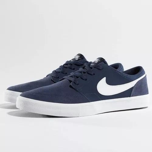 e227e178e22 Zapatillas Nike Sb Mod Portmore 2 Azul -   2.899