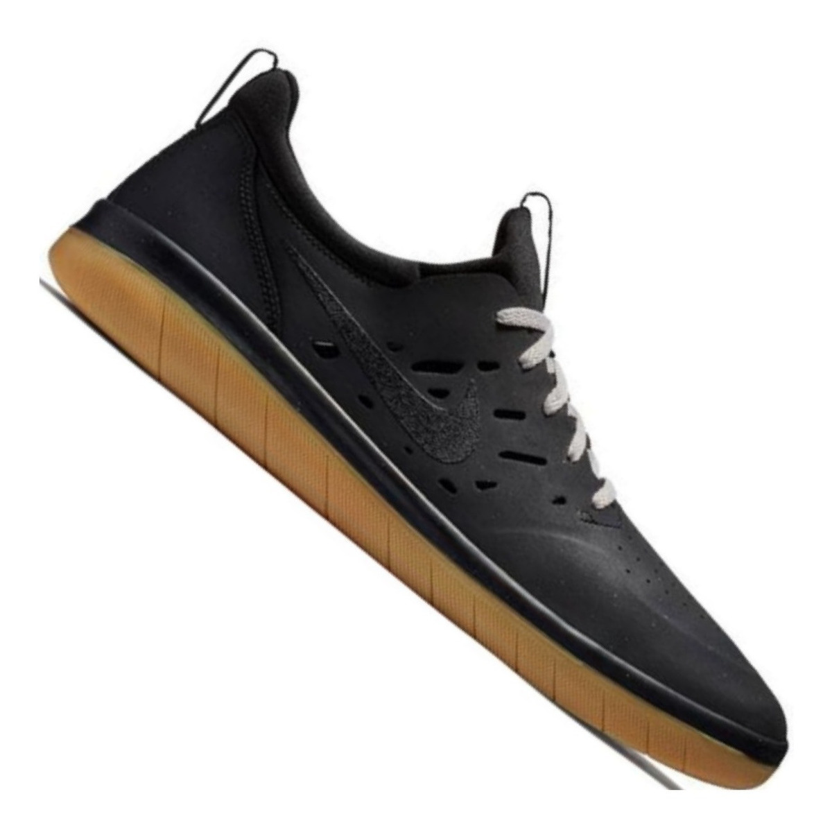 Zapatillas Nike Sb Nyjah Free Negras 360º De Agarre Black