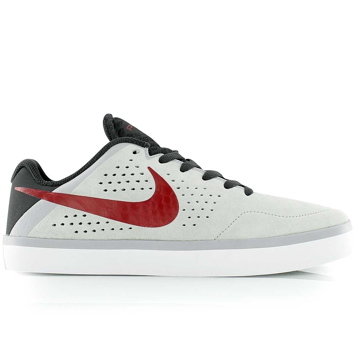 463846a157be0 Zapatillas Nike Sb Paul Rodriguezctd Lr Gris Con Rojo - $ 2.650,00 ...