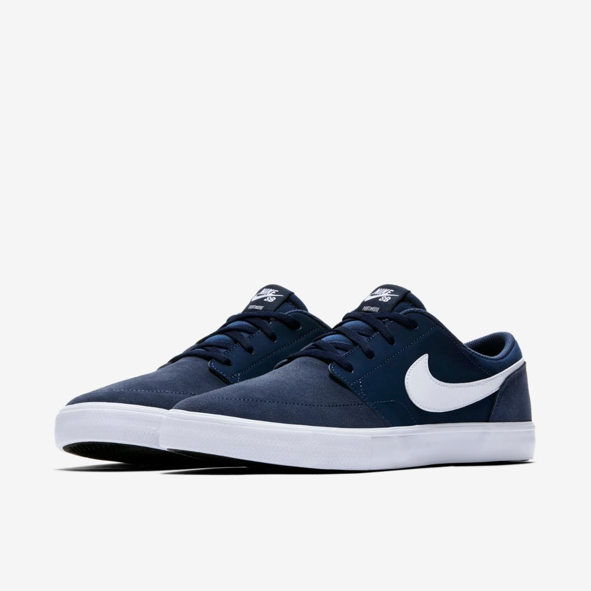 low priced 30519 02fae zapatillas nike sb portmore azul oscuro navy hombre mujer. Cargando zoom.