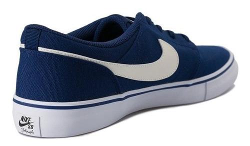 zapatillas nike sb portmore ii solar blue white 880268 411