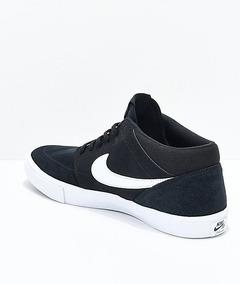 Zapatillas Nike Sb Portmore Mid Botitas Negras Original