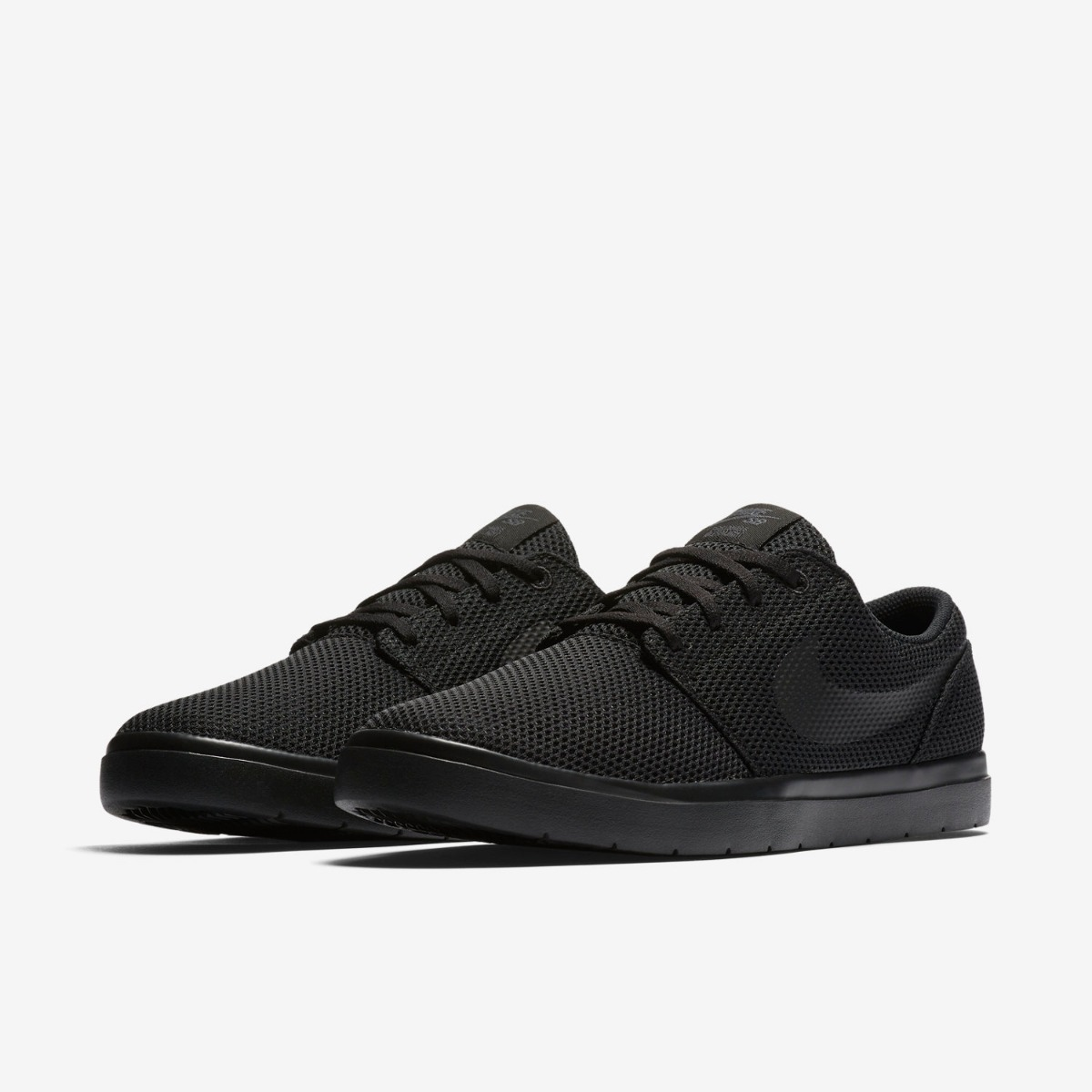 factory authentic 454e8 2e7c0 zapatillas nike sb portmore ultralight 2 black suela negra ...