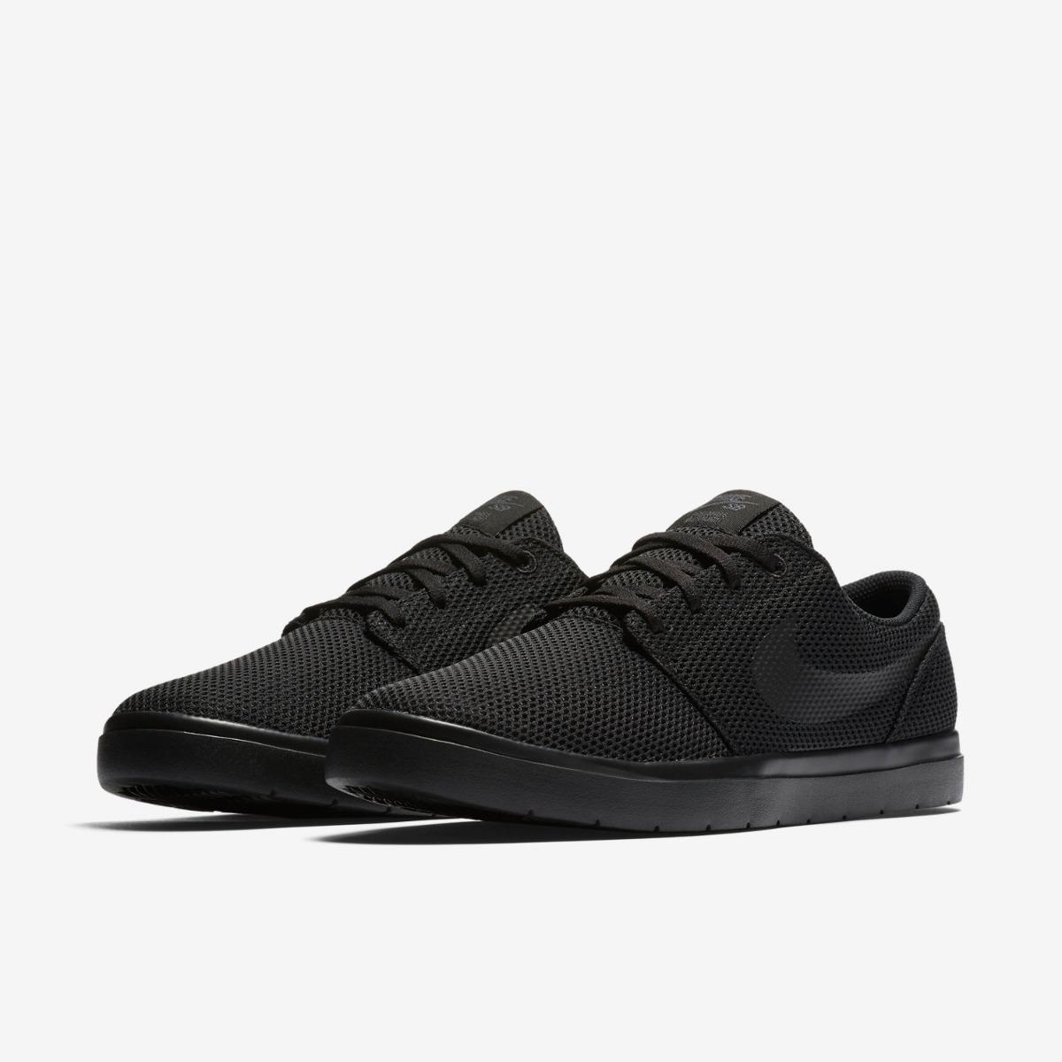 factory authentic a03fe 5b92b zapatillas nike sb portmore ultralight 2 black suela negra ...