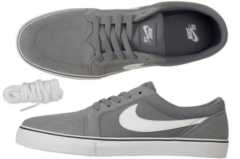6b1dfcc59e Zapatillas Nike Sb Satire Cool Grey / White Lona Canvas - $ 1.699,00 ...