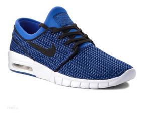 zapatillas hombre azul nike