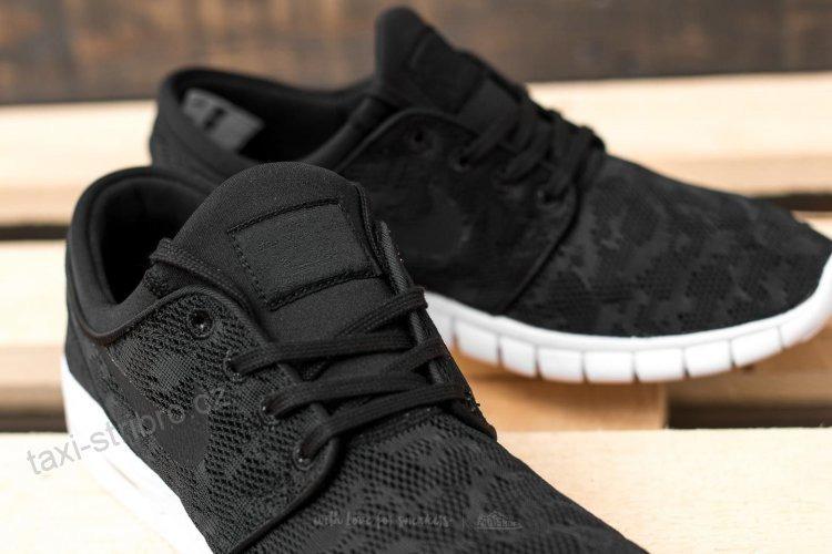 brand new 05db2 ded6f zapatillas nike sb stefan janoski max hombre negras black