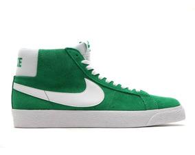 zapatillas nike skate verdes