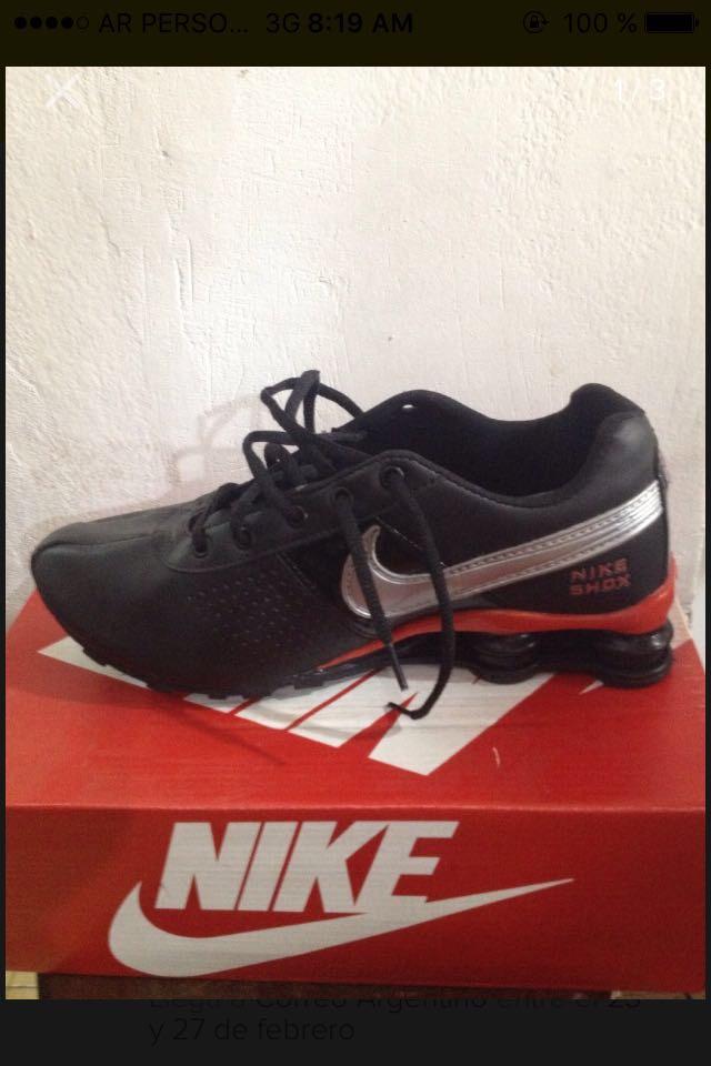 8ff85110a Zapatillas Nike Shox - $ 1.100,00 en Mercado Libre