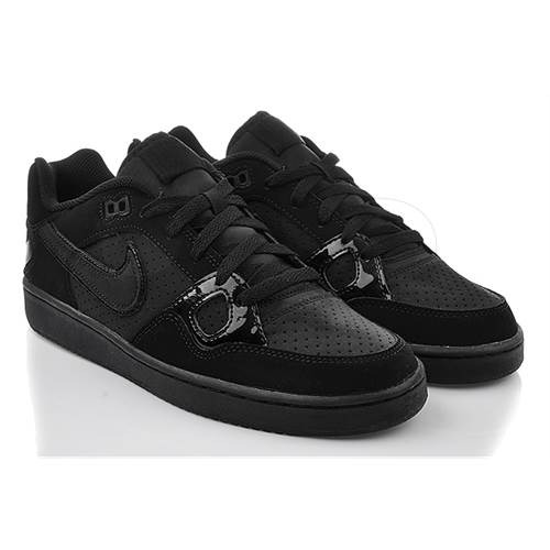 zapatillas nike son of force de cuero todas negras