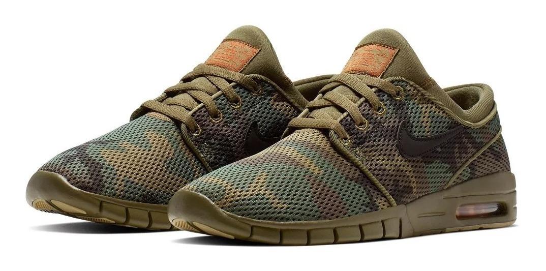 reducir Desgracia Impotencia  Zapatillas Nike Stefan Janoski Max Hombre Camuflado -vulkano ...