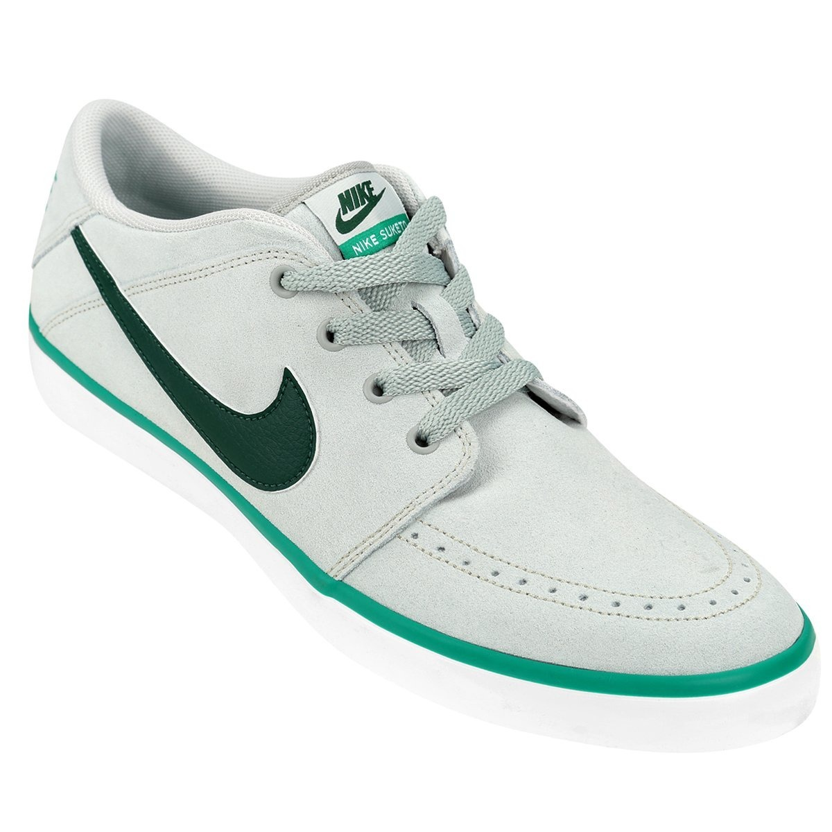 Zapatillas Nike Suketo Suede Gris + Envio Gratis - $ 1.599,00 en Mercado  Libre