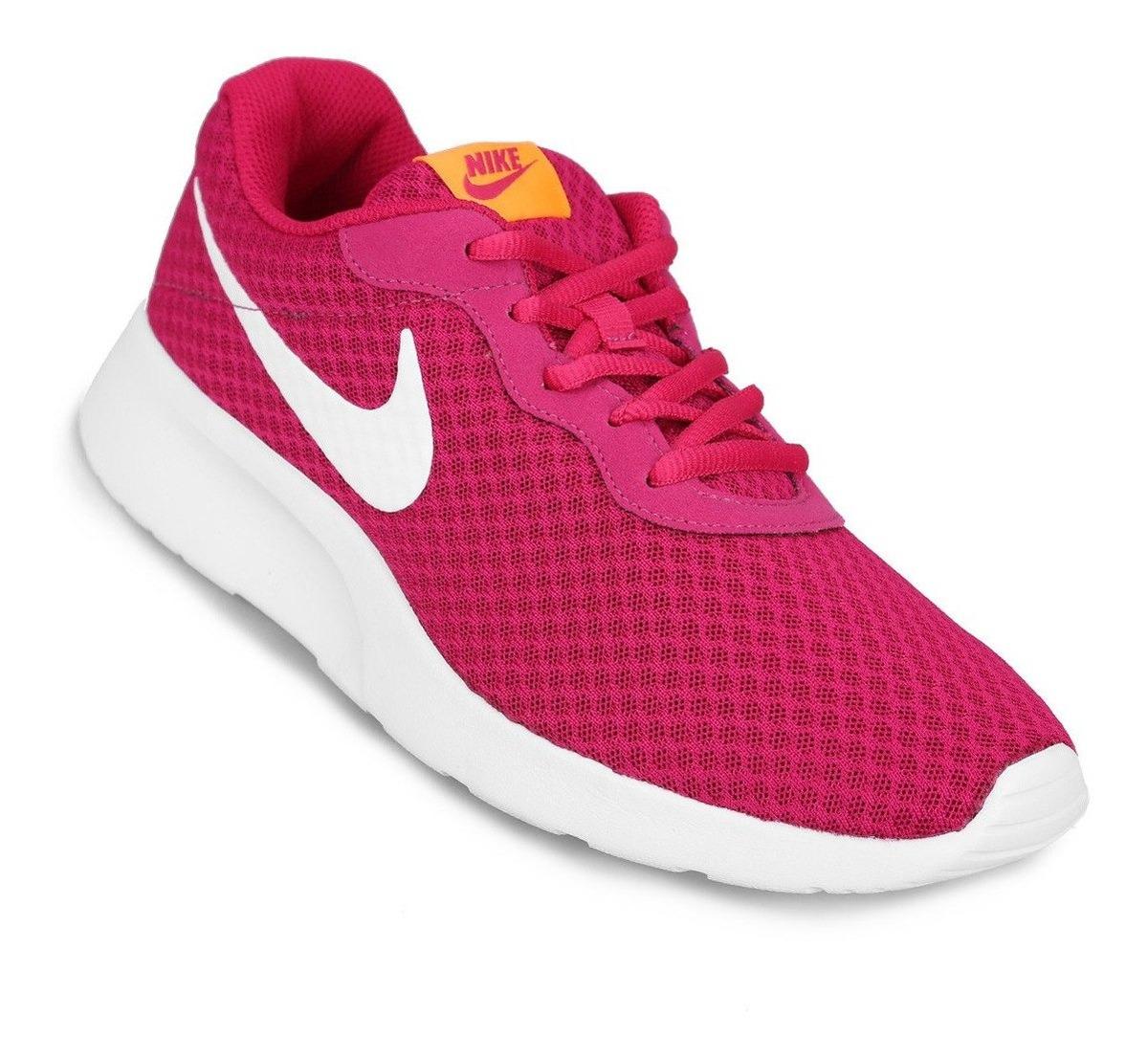 Zapatillas Nike Tanjun Mujer Rosa Original