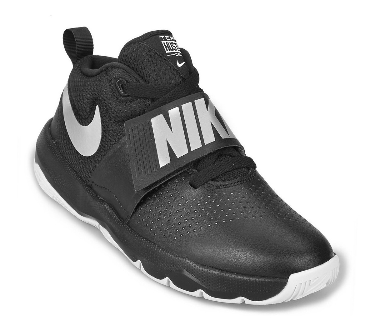 Zapatillas Nike Team Hustle 8 Infantil Negras