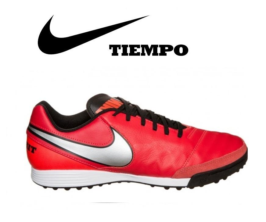eda3d90d8276a zapatillas nike tiempo genio rojas turf nuevas originales. Cargando zoom.