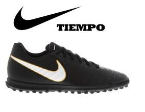 Zapatillas Nike Tiempo Rio Talla 40 Grass Artificial Nuevas