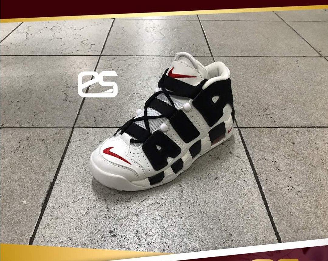 zapatillas nike blancas negras