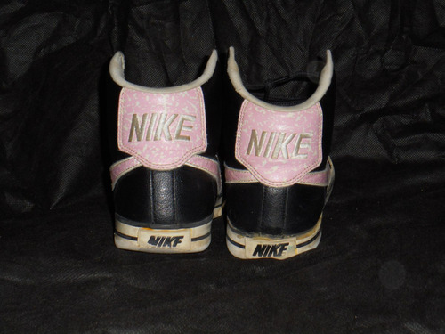 zapatillas nike usadas negra 41 botitas en saavedra