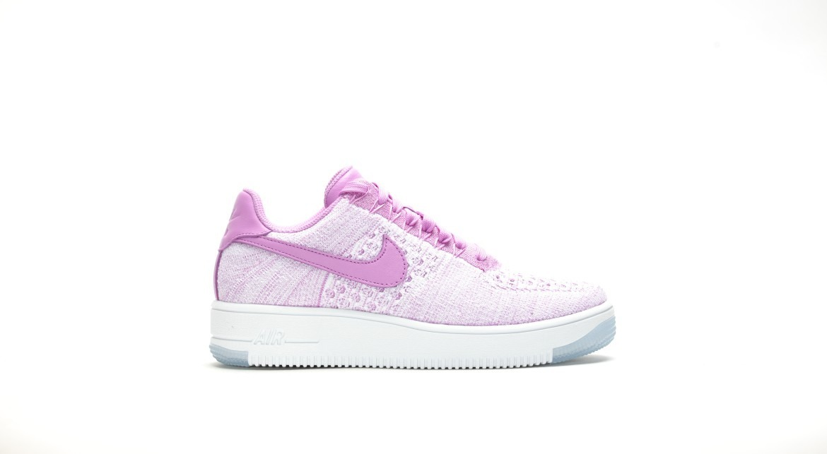 Zapatillas Nike W Air Force 1 Flyknit Low Rosa