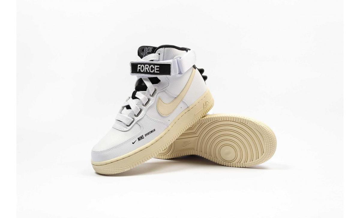 Zapatillas Nike Wmns Air Force 1 High Utility White