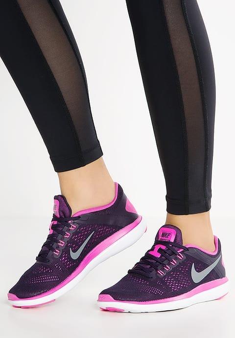 9cef86e9245 Zapatillas Nike Wmns Flex 2016 Rn Mujer Lila  Running Oferta ...