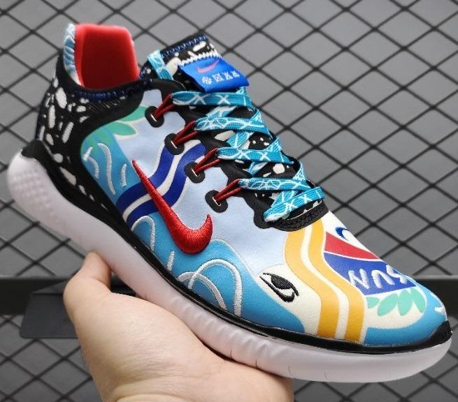75d12dfc5f1e Zapatillas Nike X Flabjacks Free Rn Multicolor 2018 - S  380