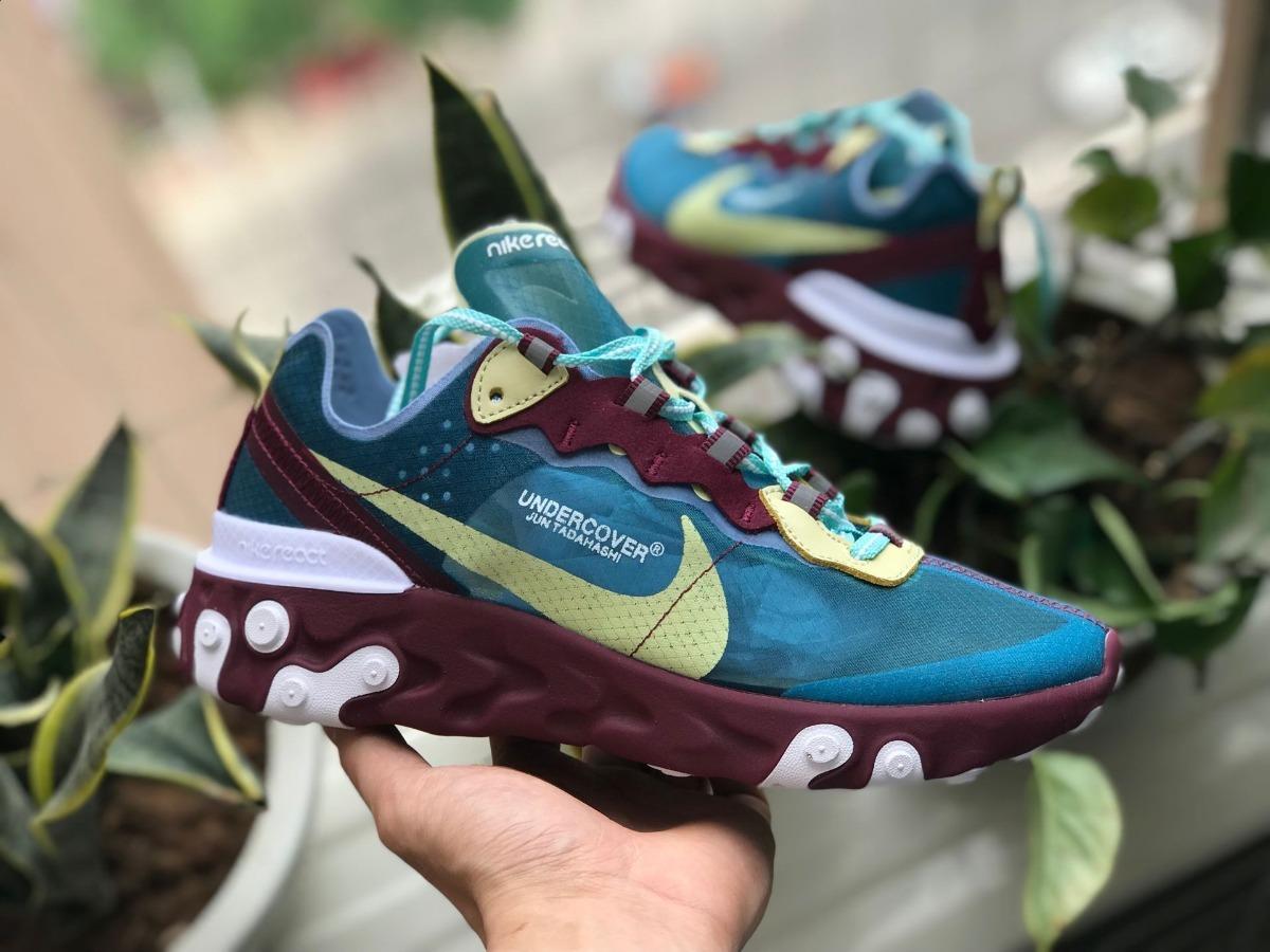 Zapatillas Nike X Undercover React Element 87 New 2019 -   6.300 fec822dd3e4f
