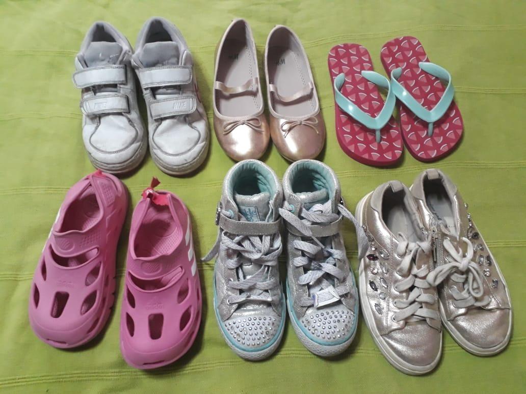 nike niña zapatillas 32