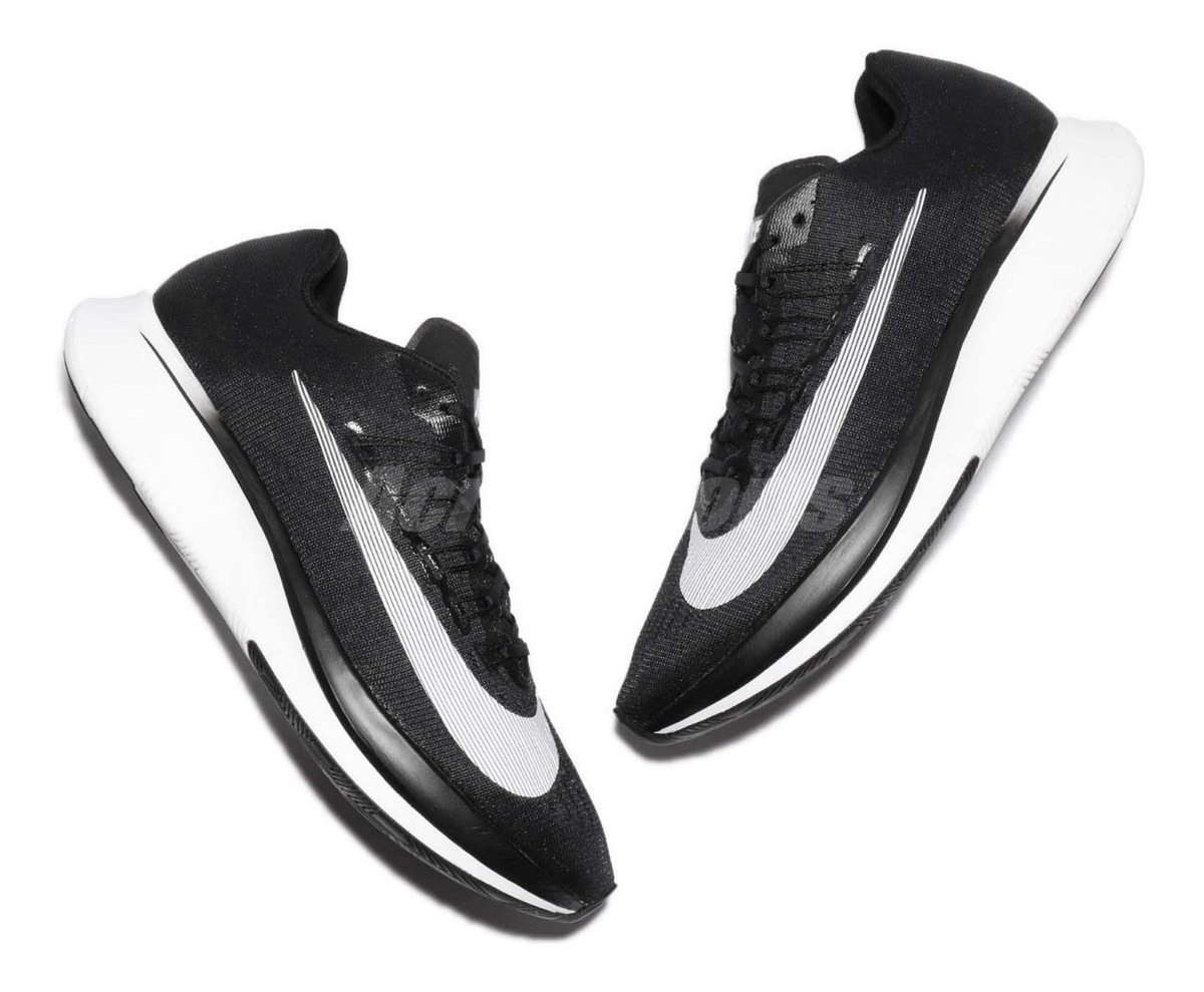 Zapatillas Nike Zoom Fly Running Profesional Hombre Negra