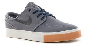 Zapatillas Nike Zoom Stefan Janoski Cnv Grey Hombre