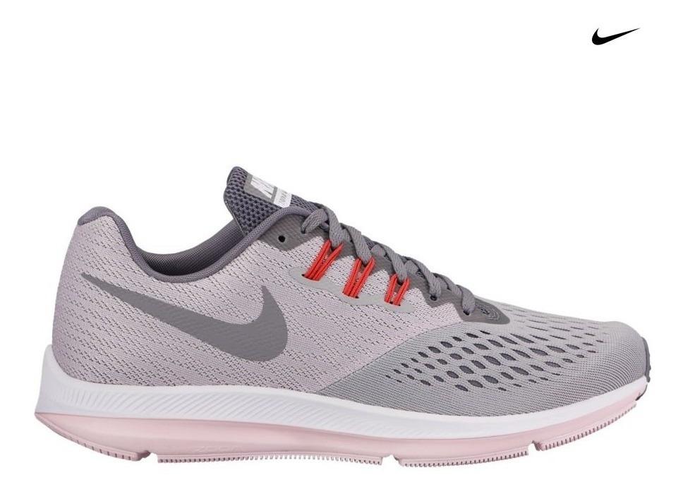Zapatilla Negra Nike Zoom Winflo 4